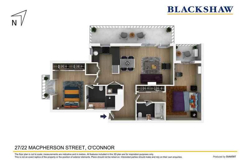 27/22 MacPherson Street O'Connor